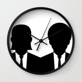 Vincent and Jules Wall Clock