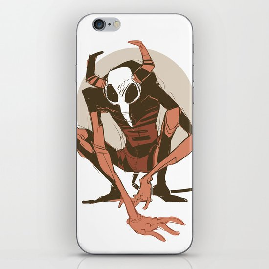 lurk iPhone & iPod Skin