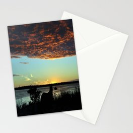 Bo Watching Over the Basin Stationery Cards
