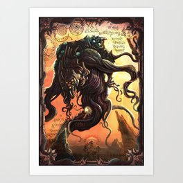 GREAT ANCIENT YOG-SOTHOTH Art Print