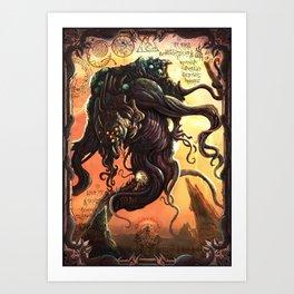 GREAT ANCIENT YOG-SOTHOTH Art Print