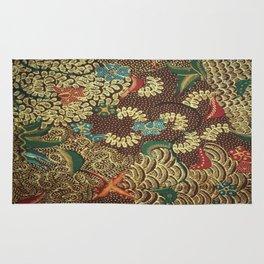 Colorful The beautiful of art Indonesian Batik Pattern Rug