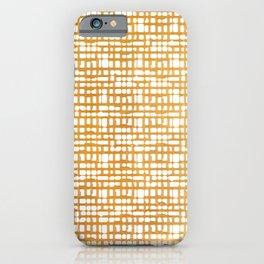 Simple But Golden - Minimalist Lines iPhone Case