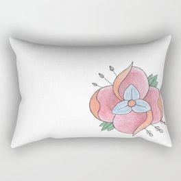 La Dispute Lotus Rectangular Pillow