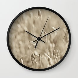 Windswept Wall Clock