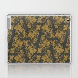 Ginkgo Fossils - Dark Laptop & iPad Skin