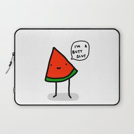 Watermelon Butt Slut   Veronica Nagorny Laptop Sleeve