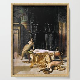 The Death Of Cleopatra Serving Tray