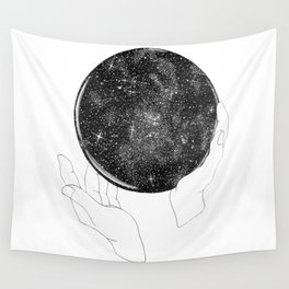 The Stargazer's Future is the Past Wall Tapestry