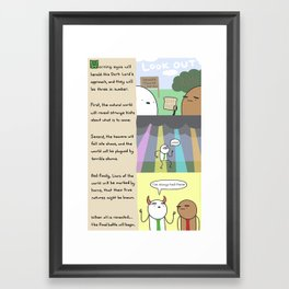 Antics #238 - reign of jeff: part 2 Framed Art Print