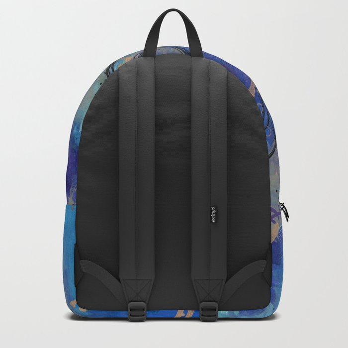 Abstract - Lotus flower - Intuitive Rucksack