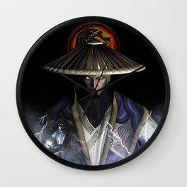 Double Raiden | Mortal K.O Wall Clock