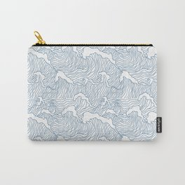 Japanese Wave Carry-All Pouch