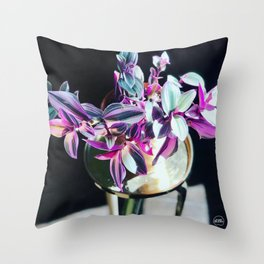 Black Nanounk Throw Pillow