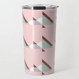 geometric abstract #1 Travel Mug