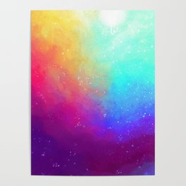 Galaxy Sky Poster