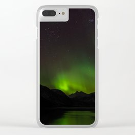 Northern Lights in Norway 01 Clear iPhone Case