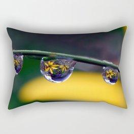 tripple yellow petals Rectangular Pillow
