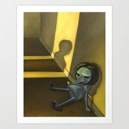 Suppressed Memories Art Print