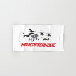 Professional Helicopter Pilot Hand & Bath Towel