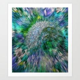 paisley 1 Art Print