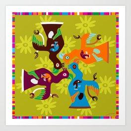 Paracas Pop I Art Print