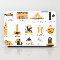 kansas city iPad Cases featuring I Love Kansas City by HelloKaterTot