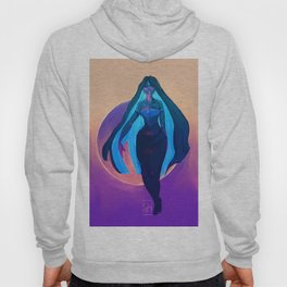 Tangled Up In Blue Hoody