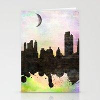 new york Stationery Cards featuring new York  new York  by mark ashkenazi