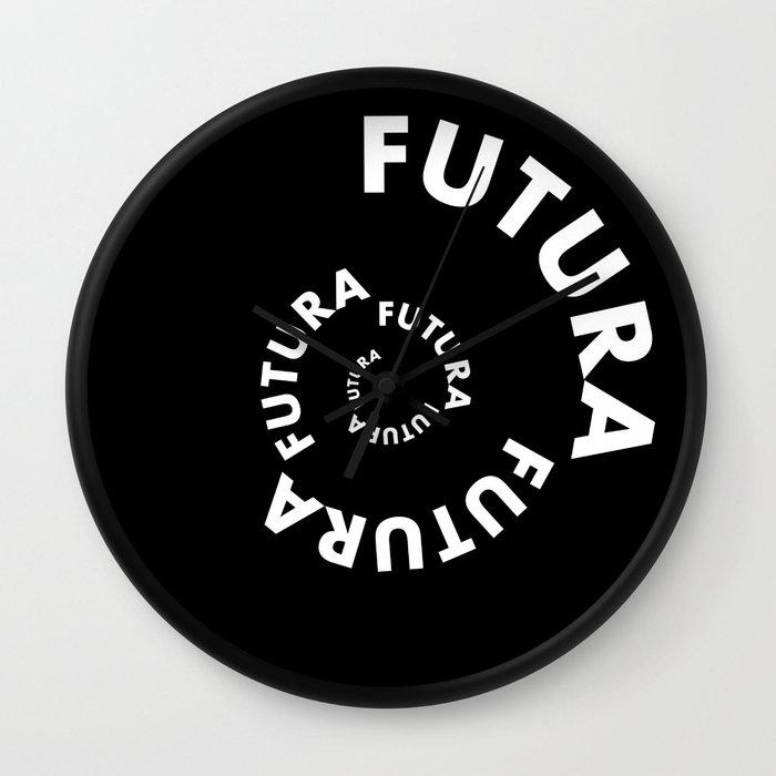 Timeless Type - Futura 2 Wall Clock