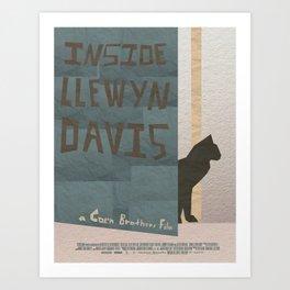 Inside Llewyn Davis Minimalist Art Print