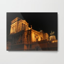 Altar of the Fatherland, Rome Metal Print