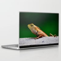 lizard Laptop & iPad Skins featuring Lizard by Paul Anthony Thompson