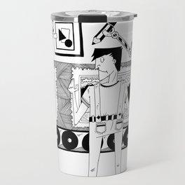 Art assembly line Travel Mug