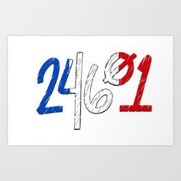 24601 Art Print