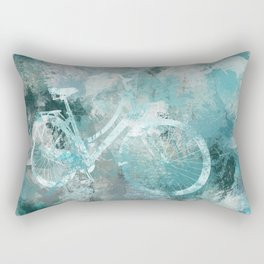 There was a Bike Rectangular Pillow