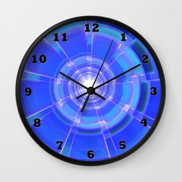 Sapphire Scope Wall Clock
