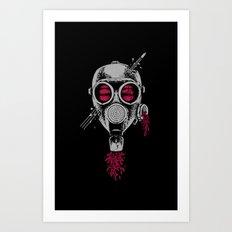 through head Art Print