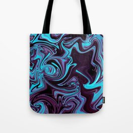 "ABSTRACT LIQUIDS XXXV ""35"" Tote Bag"