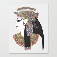 egyptian Canvas Prints featuring EGYPTIAN GODDESS by Bianca Green