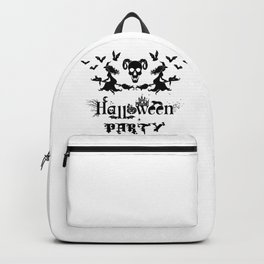 Happy Halloween Party -  Perfect gift idea for everyone on Halloween Holiday. Backpack