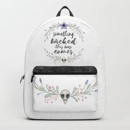 Something wicked Backpack