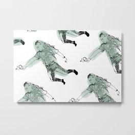 Bang Bang - Yang Metal Print
