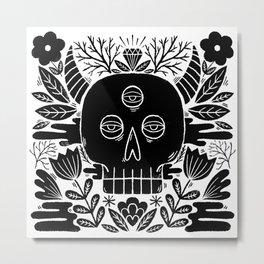 monster garden Metal Print