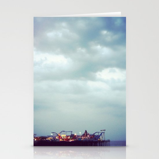 Casino Pier Stationery Cards