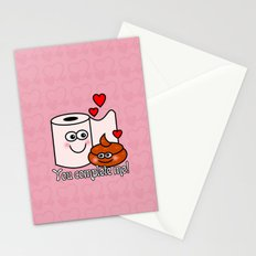 You Complete Me! Stationery Cards