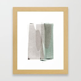 transparent 1 Framed Art Print