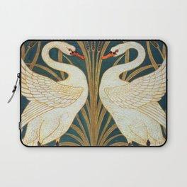 Walter Crane Swan, Rush And Iris Laptop Sleeve