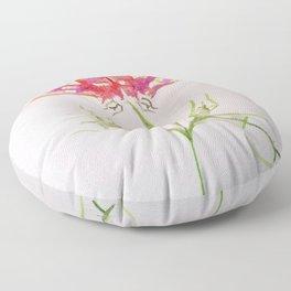 Butt Flowers Floor Pillow