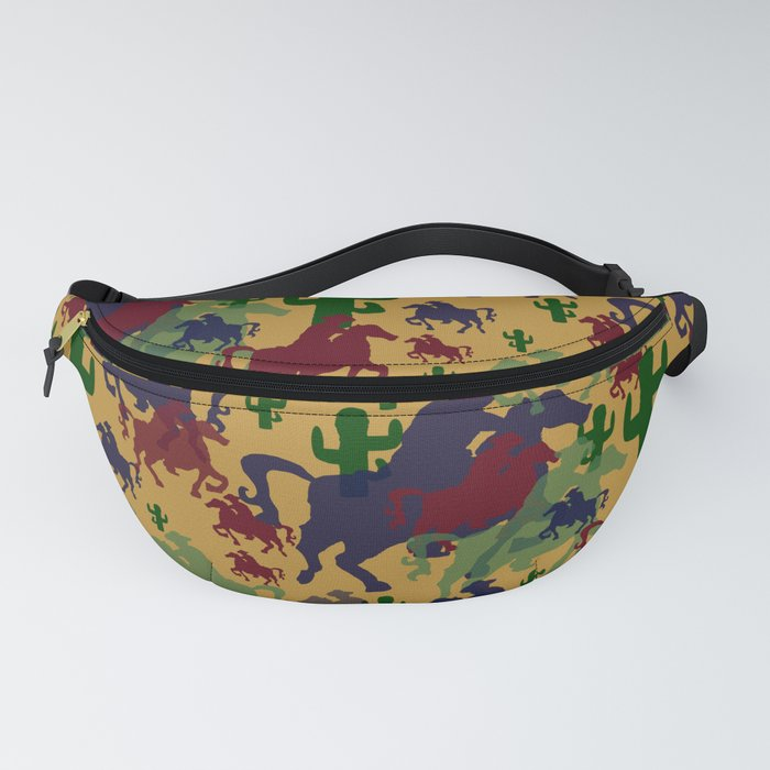 Cowboys Pattern Fanny Pack